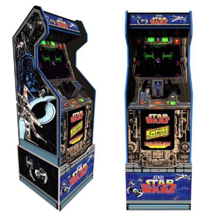 Arcade1Up Star Wars Home Arcade Cabinet with Custom Riser