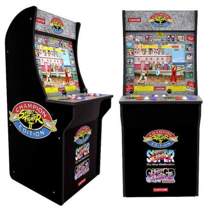 Arcade1Up Street Fighter - Classic 3-in-1 Home Arcade, 4Ft - Not Machine Specific by Arcade1Up