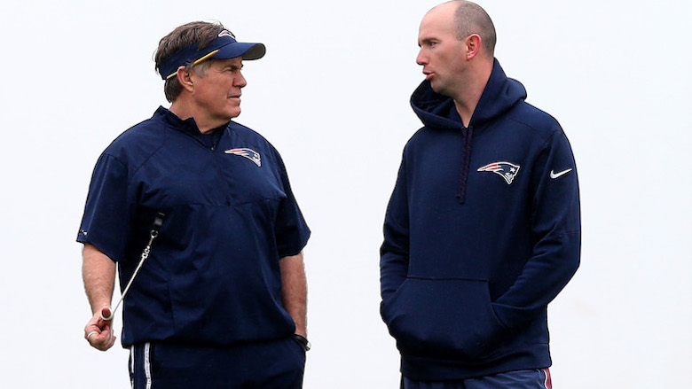 Bill Belichick Jack Easterby Patriots