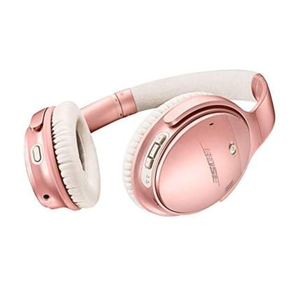 rose gold noise cancelling headphones