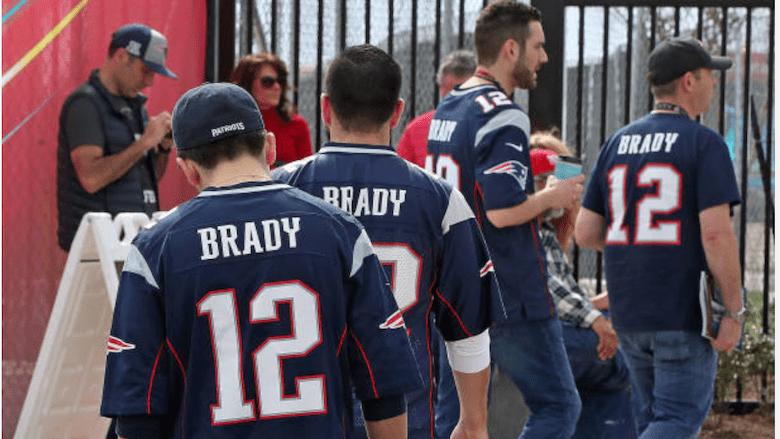 Tom Brady jersey royalties