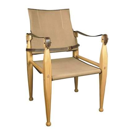 canvas safari chair