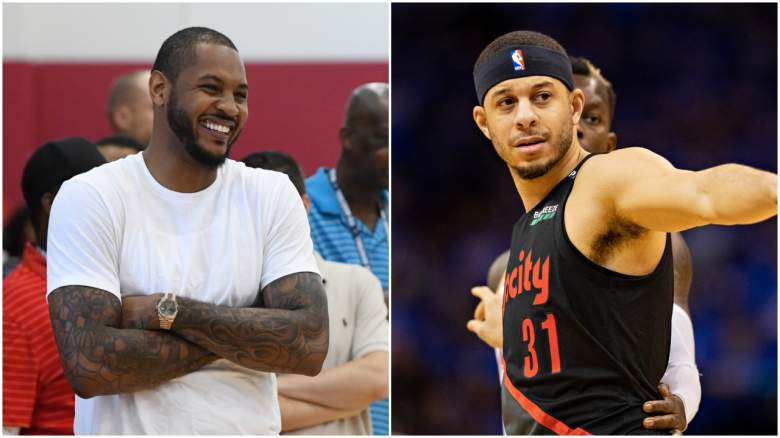 Lakers Carmelo Anthony Seth Curry free agency