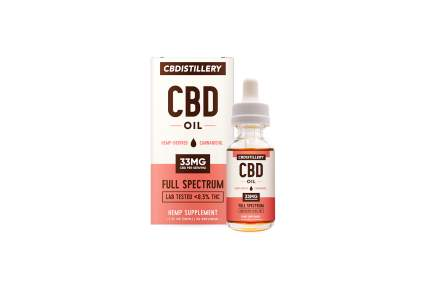 cbd oil by CBDistillery