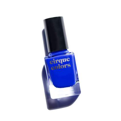 Bright colbalt blue nail polish