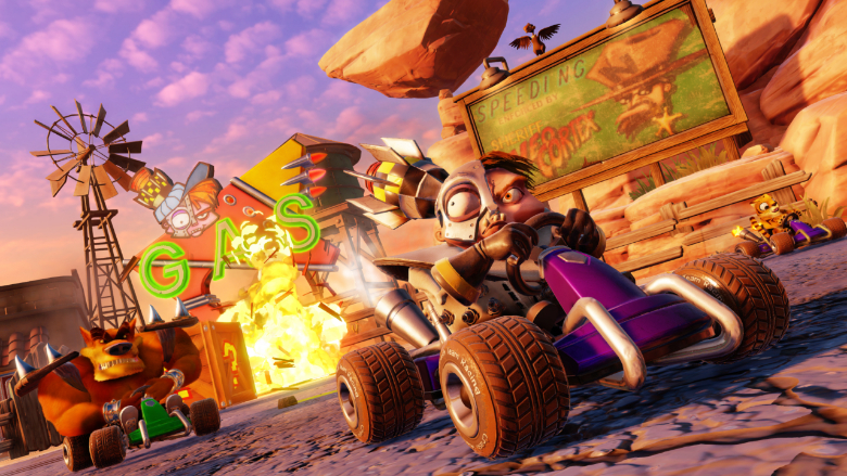 Crash Team Racing Nitro Fueled Turbo Boost