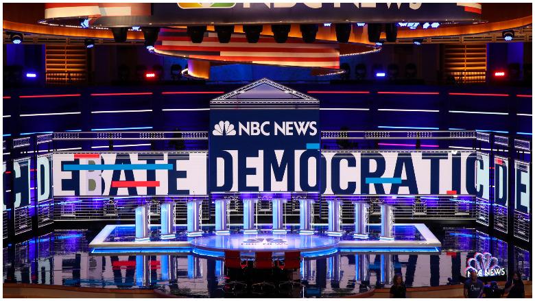 democratic debate lineup wednesday
