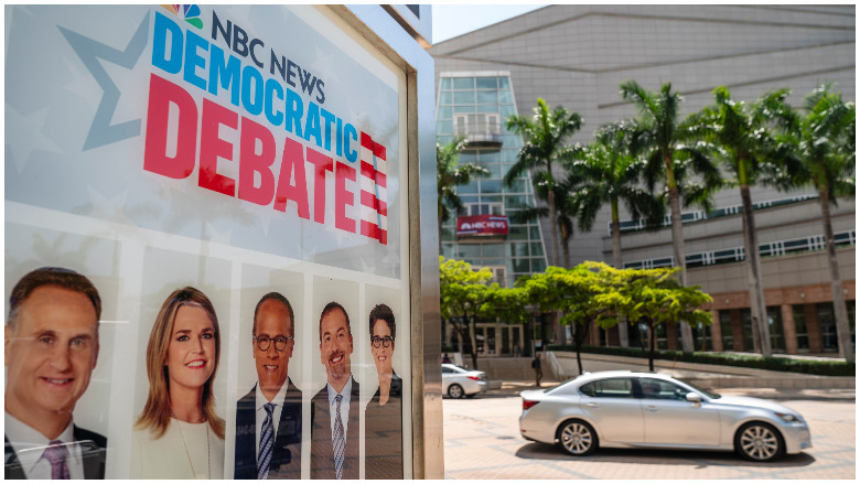 democratic debate live stream