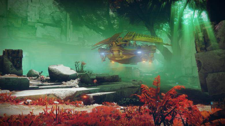 Destiny 2 Calus Barge