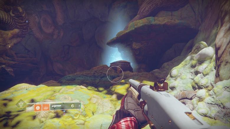 Destiny 2 Spine Burrows Treasure Chest