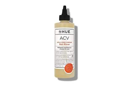 apple cider vinegar cleansing hair rinse
