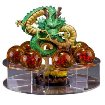 Dragon Ball Set Z Shenron Action Figure Statue with 7pcs 3.5cm balls and stand