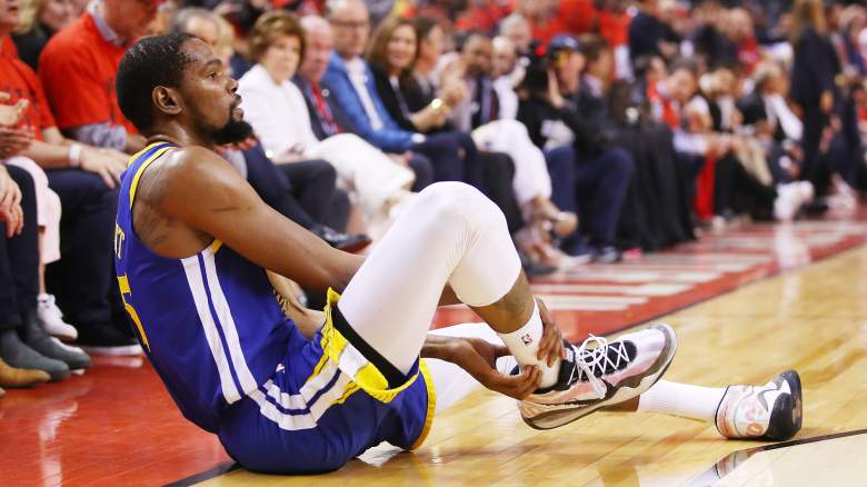 Kevin Durant injury update calf achilles