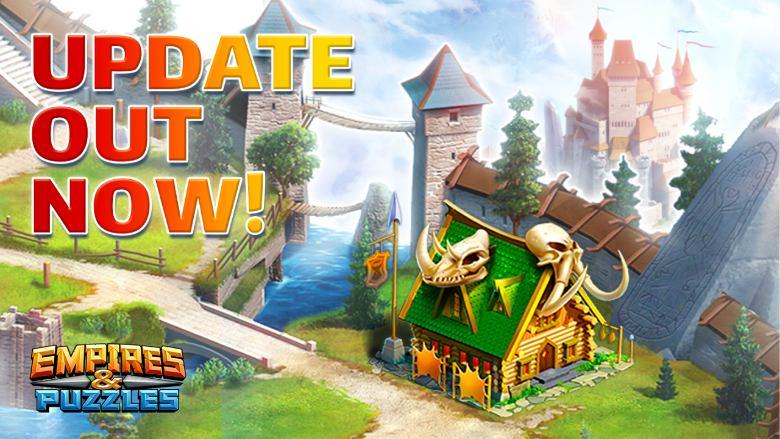 empires and puzzles new buildings