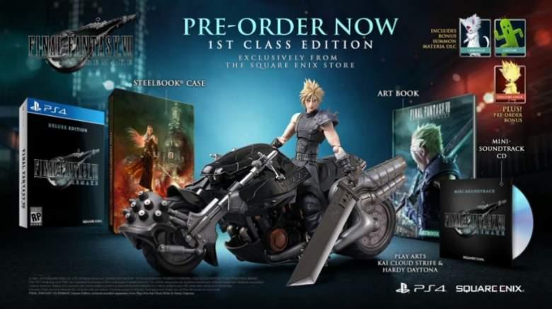Final Fantasy 7 Remake Collectors Edition