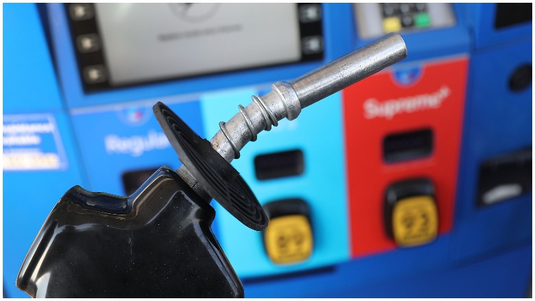 gas pump gasoline