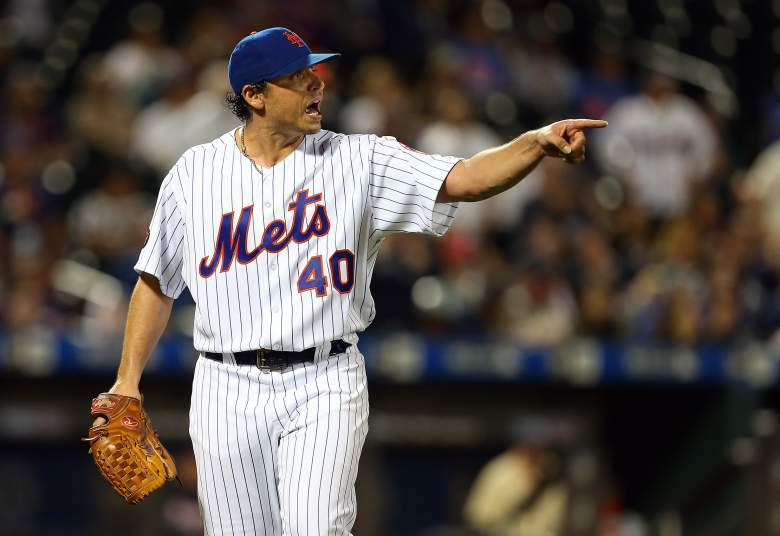 Mets pitcher Jason Vargas reportedly got into an altercation with a reporter and needed to be restrained, following Sunday's loss to the Cubs.