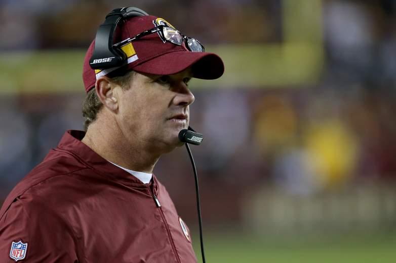 Washington Redskins coach Jay Gruden