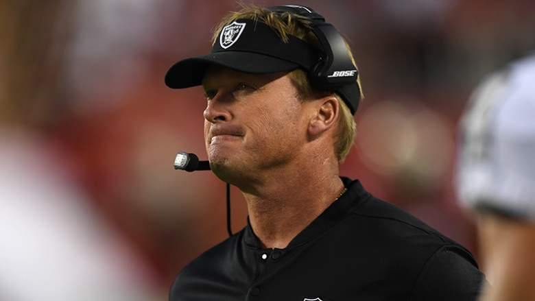 raiders jon gruden