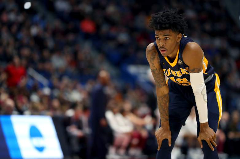 Murray State's Ja Morant is expected to be selected either second or third overall in Thursday's NBA Draft. Coverage begins at 7pm ET on ESPN.