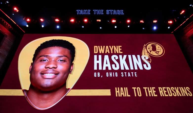 Washington Redskins rookie QB Dwayne Haskins