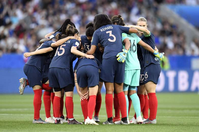 France, the host nation of the FIFA Women's World Cup, faces off with Brazil on Sunday in the Round of 16. The winner will match up with the winner of Monday's U.S. vs. Spain game.