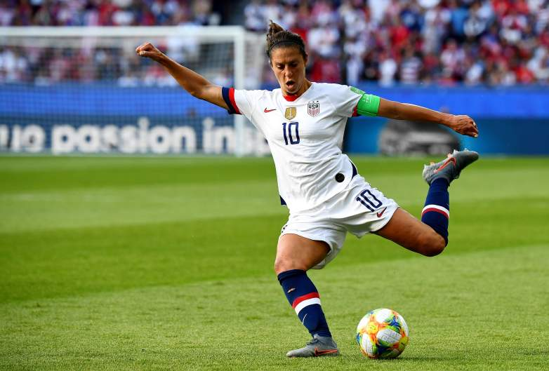 Carli Lloyd and the U.S. Women's Soccer Team will look to advance to the quarterfinals with a win over Spain on Monday in the FIFA World Cup.
