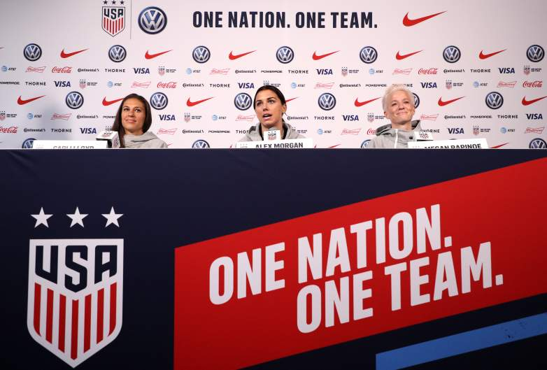 The U.S. Women's Soccer Team takes to the pitch on Tuesday against Thailand to open their 2019 FIFA Women's World Cup campaign.