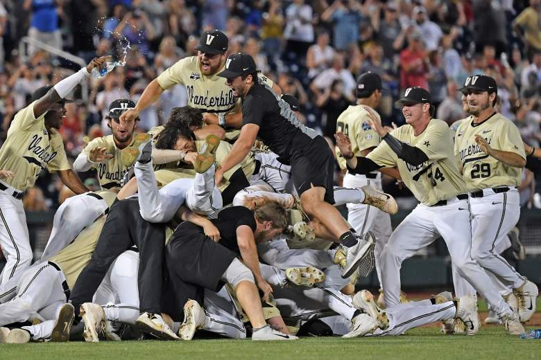 Vanderbilt beat Michigan 8-2 in Wednesday's College World Series decisive game to win the NCAA Championship.