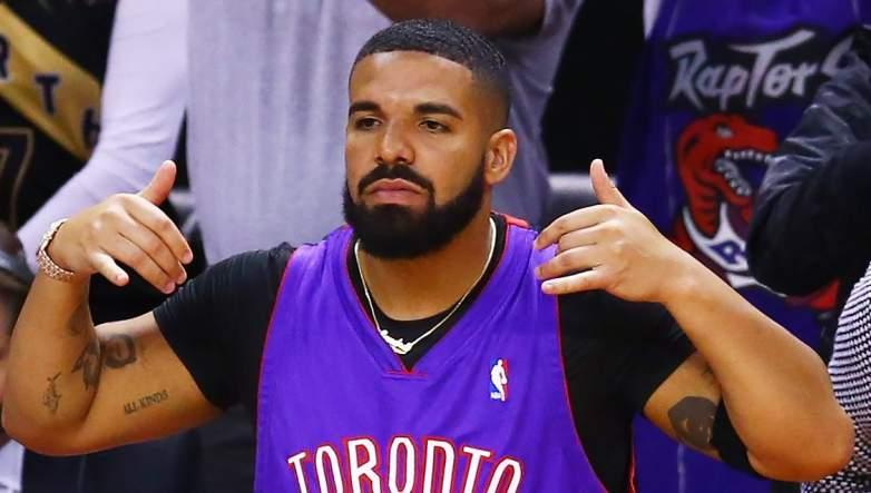 Drake Toronto Raptors Jurassic Park