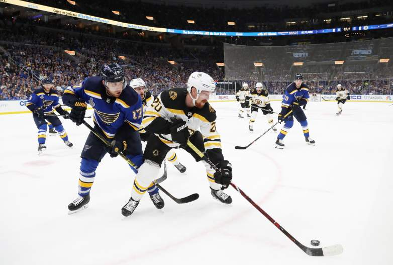 The Boston Bruins and St. Louis Blues will meet in a critical Game 5 tonight with the series tied at 2-2.
