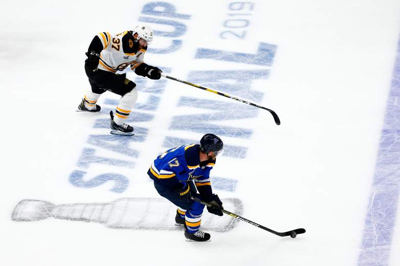 It's all on the line Wednesday night, as the Boston Bruins and St. Louis Blues face off in the winner take all Game 7 of the Stanley Cup Final.