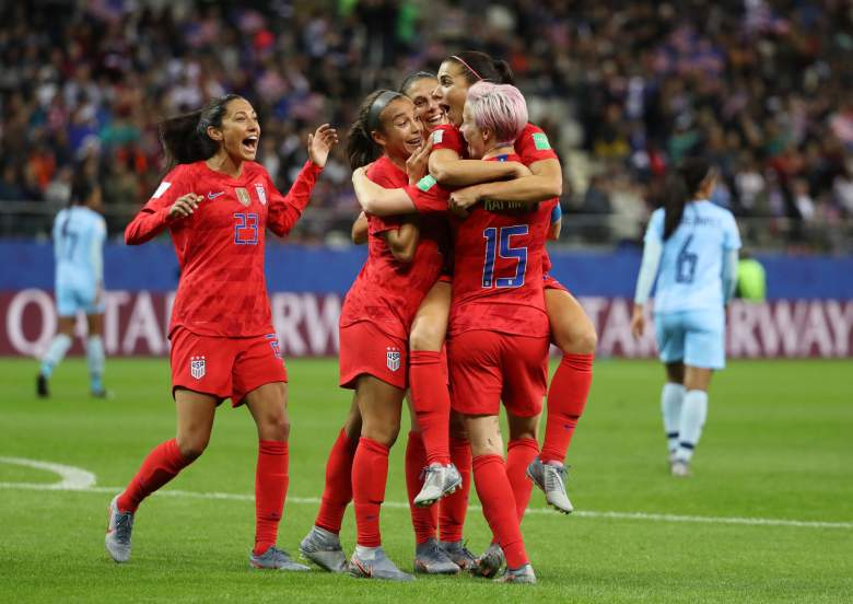 The U.S. Women's Soccer Team made a huge statement and history in their 13-0 rout of Thailand on Tuesday at the FIFA Women's World Cup.