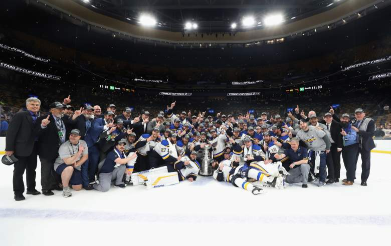 The St. Louis Blues won their first Stanley Cup in franchise history on Wednesday night, defeating the Boston Bruins 4-1 in Game 7.