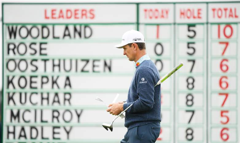 2013 U.S. Open Champion Justin Rose and two-time defending champion Brooks Koepka will look to hunt down the 54-hole leader Gary Woodland in today's final round at Pebble Beach.