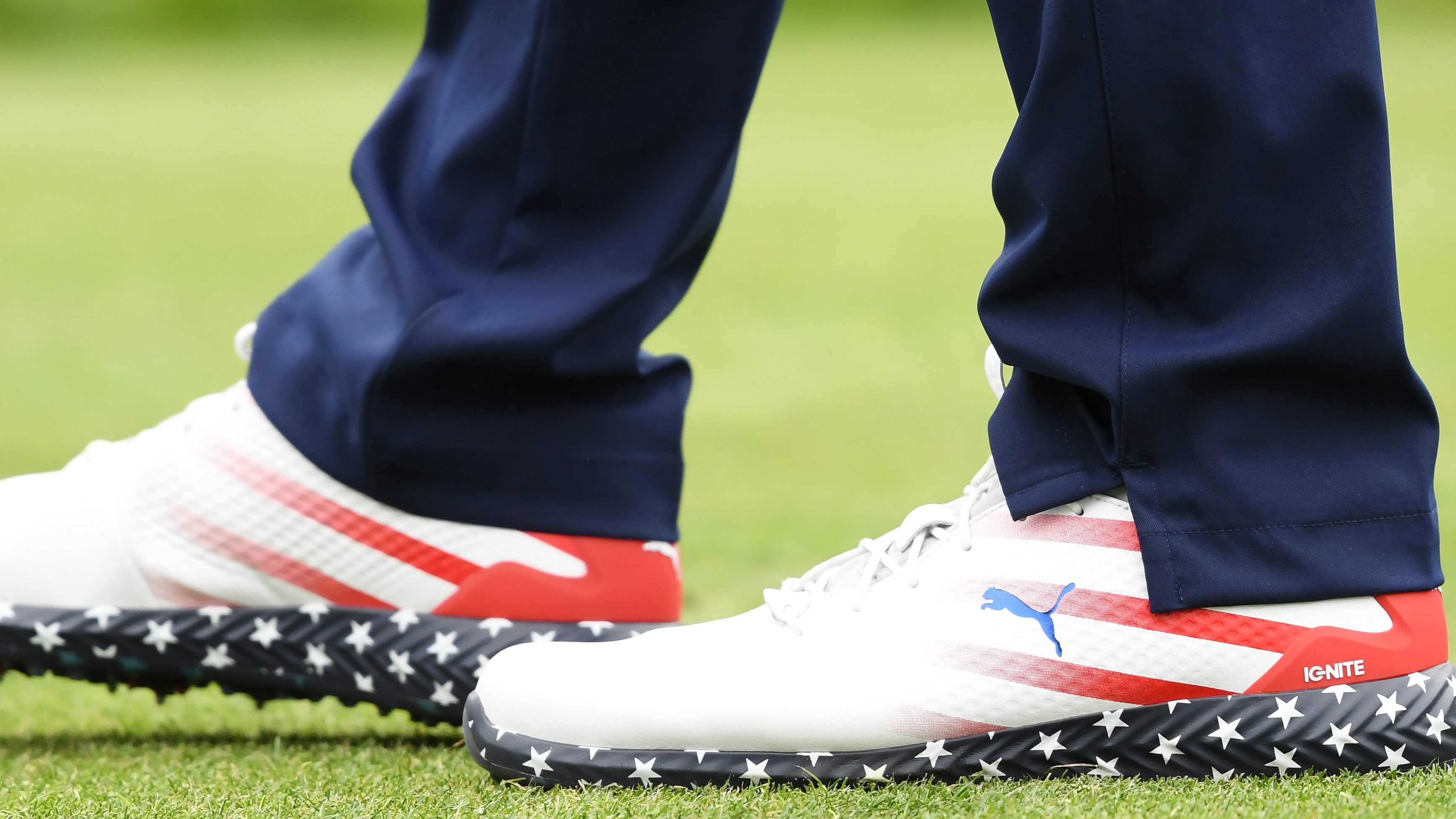 Gary Woodland Shoes: American Flag