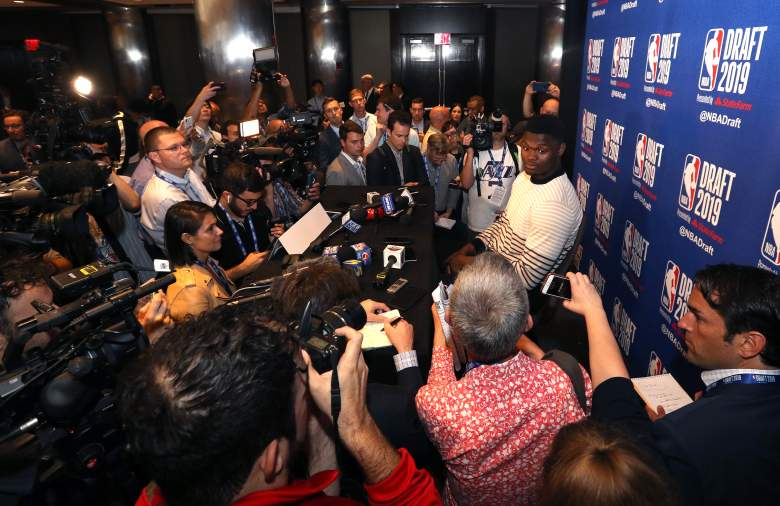 The spotlight will be on 18-year-old phenom Zion Williamson tonight, as he is expected to be taken #1 in the NBA Draft.