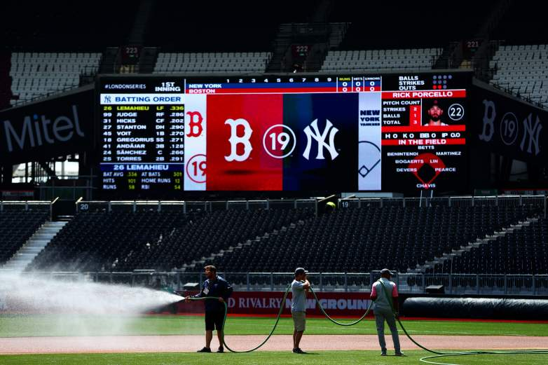 The Red Sox and Yankees are set to face off in the first-ever London Series this weekend. Games will be held Saturday and Sunday at London Stadium.