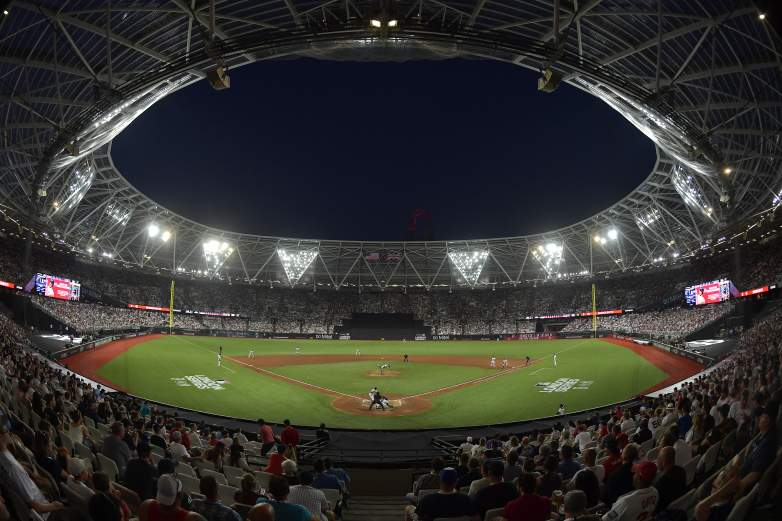 The Red Sox and Yankees played in front of a sold-out London Stadium on Saturday, which drew 59,659 fans. The stadium is the current home of the West Ham United F.C. who play in the English Premier League.
