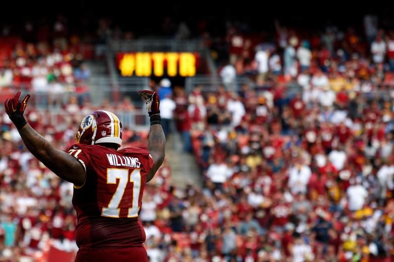 Redskins Pro Bowl left tackle Trent Williams