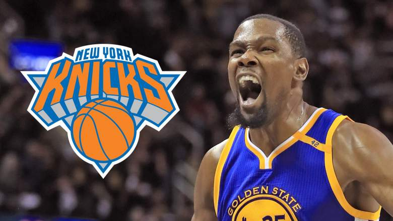 Kevin Durant Knicks free agency