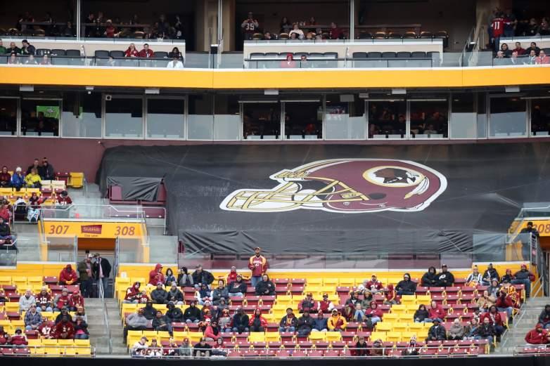 Disgruntled Washington Redskins Fans