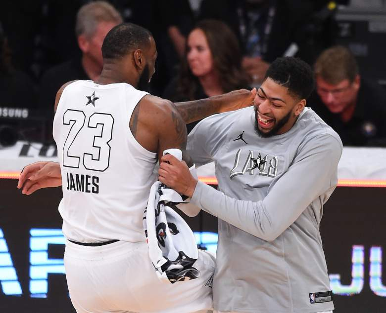 Anthony Davis will be teaming up with LeBron James in Los Angeles after the Lakers agreed to acquire the three-time All-NBA forward on Saturday in a blockbuster trade with the Pelicans.