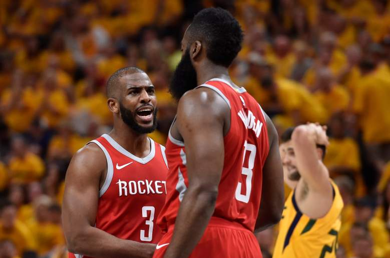 Have Chris Paul and James Harden played their last game together? Conflicting information surfaced Tuesday that Paul may want out of Houston.