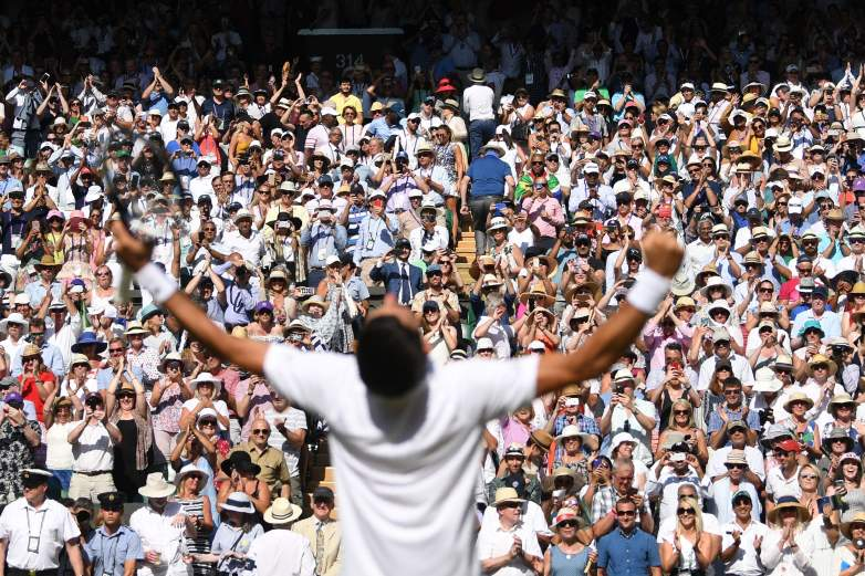 Novak Djokovic will look to defend his title as the Wimbledon Championships open up on Monday.