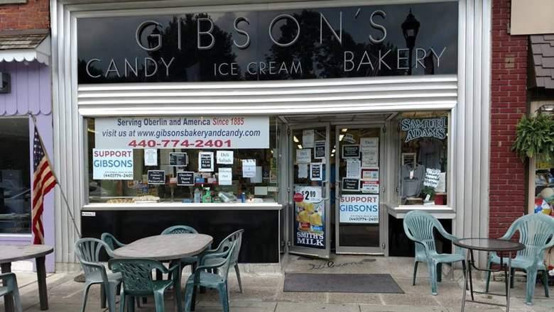 Gibson's Bakery Oberlin Ohio
