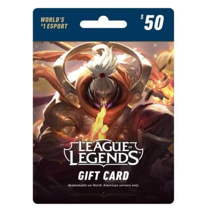 gift card league