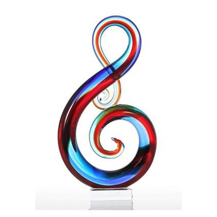 glass music sculpture