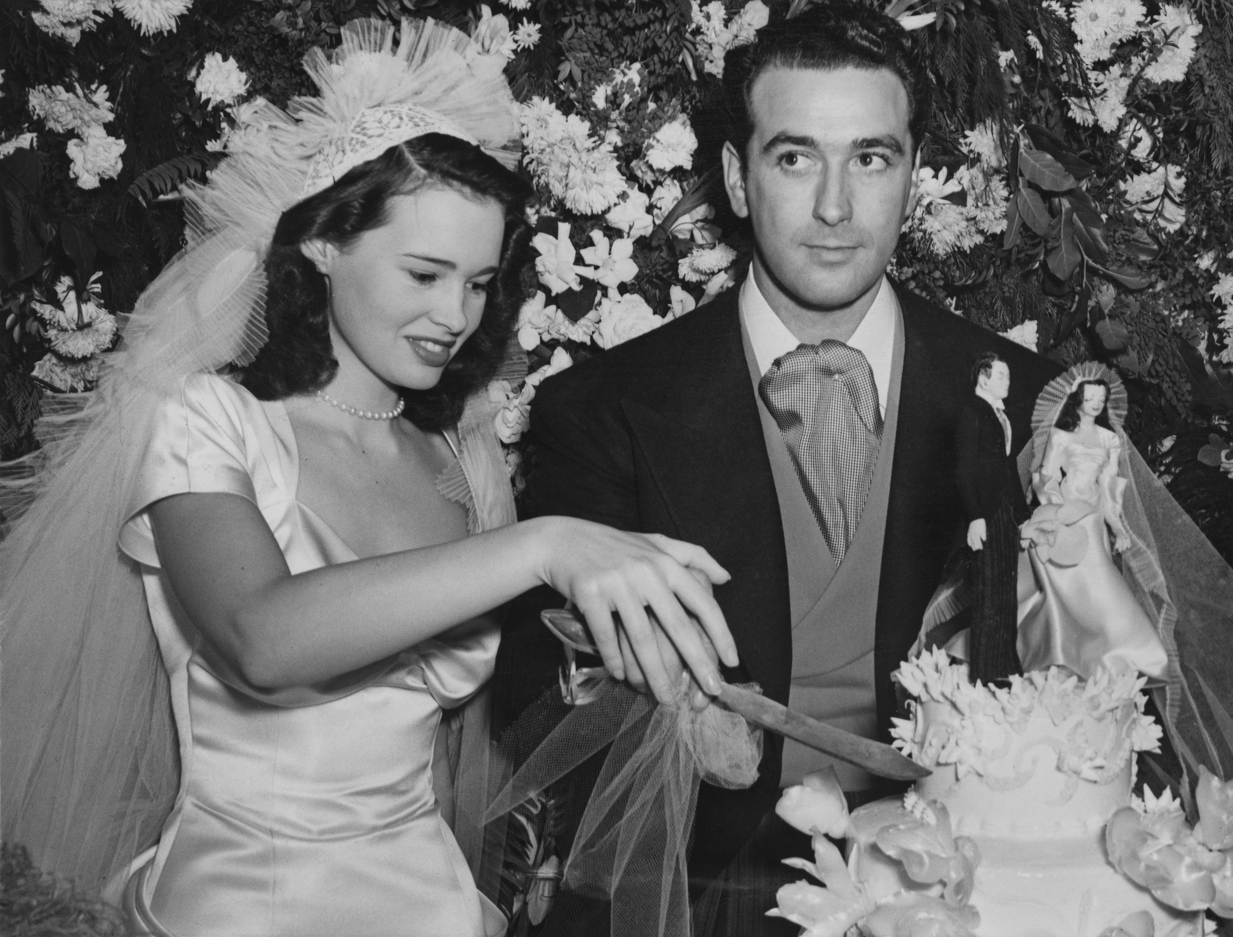 Vanderbilt and her irst husband