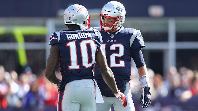 Josh Gordon Tom Brady